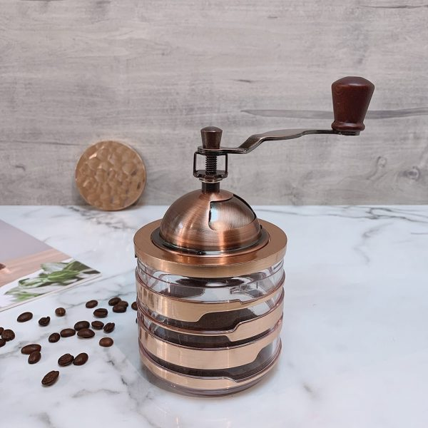 Holar CM-HK3RG-1 rose gold coffee grinder-1