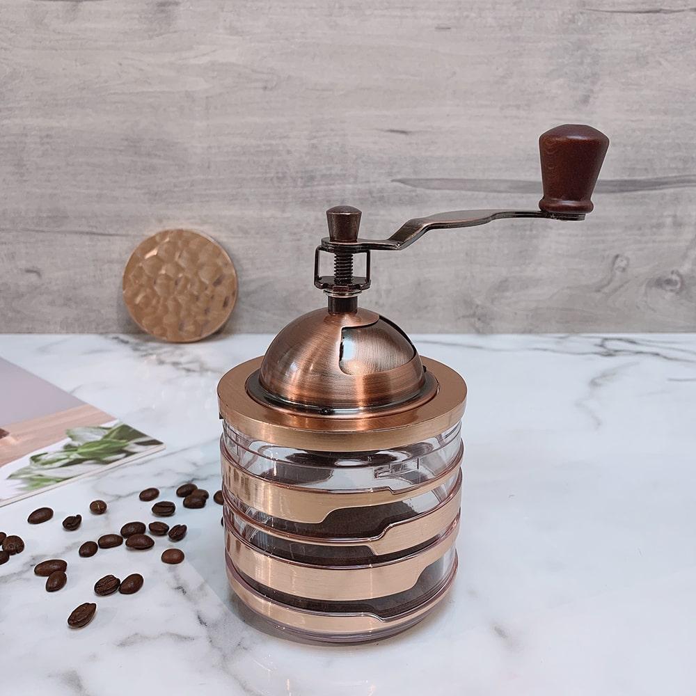 Holar CM-HK3RG-1 rose gold coffee grinder-1