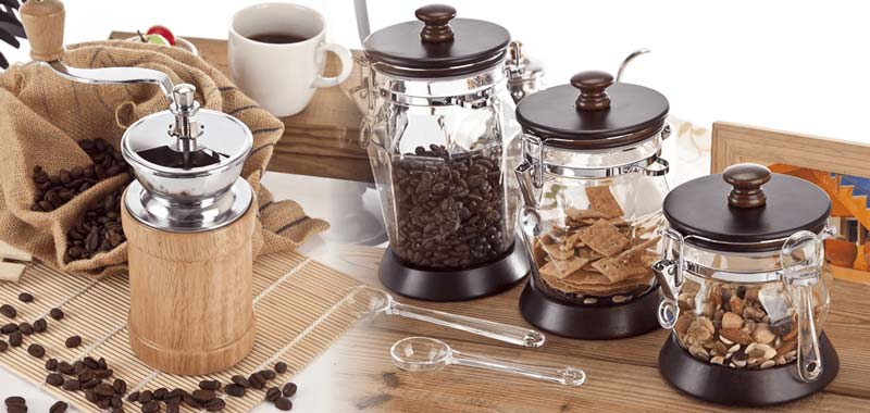 Holar Coffee Mill Canister Homepage usage - 1