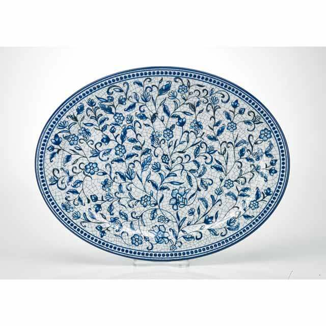 MM-FF24 Oval Salad And Dinner Plate