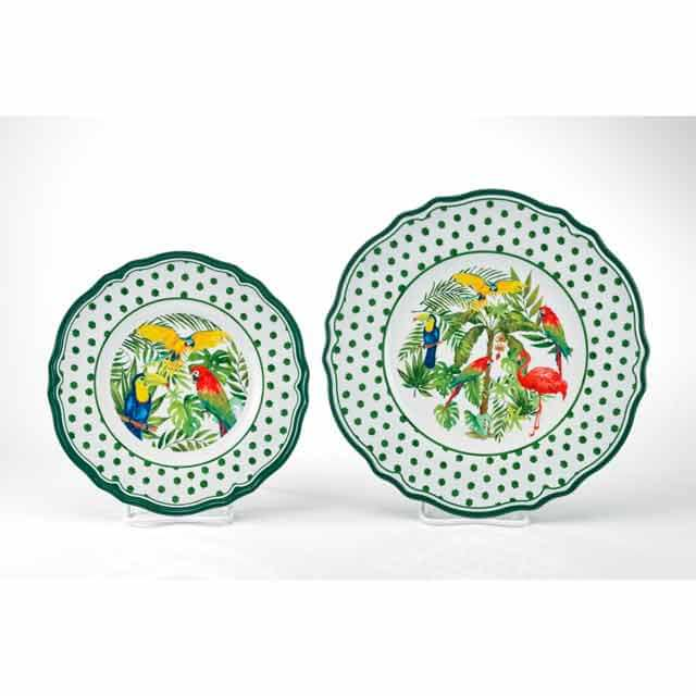 MM-FF30 Round Salad And Dinner Plate