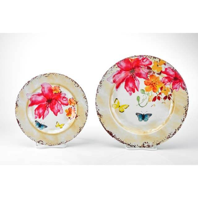 MM-TT04-2 Round Salad And Dinner Plate