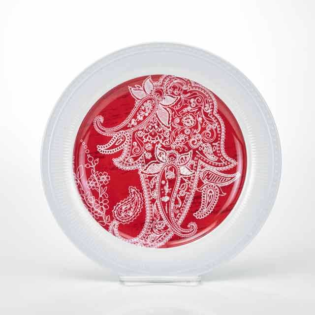 MM-TT22 Round Salad And Dinner Plate