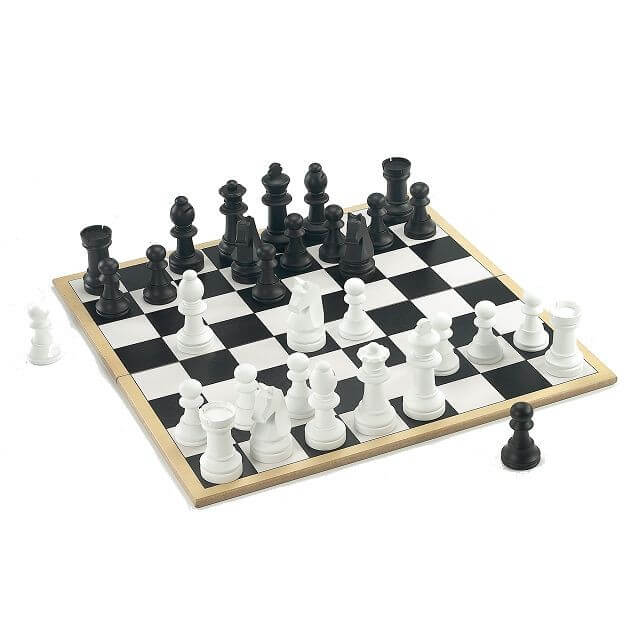 Holar CS Wooden Chess Game Set Jumbo