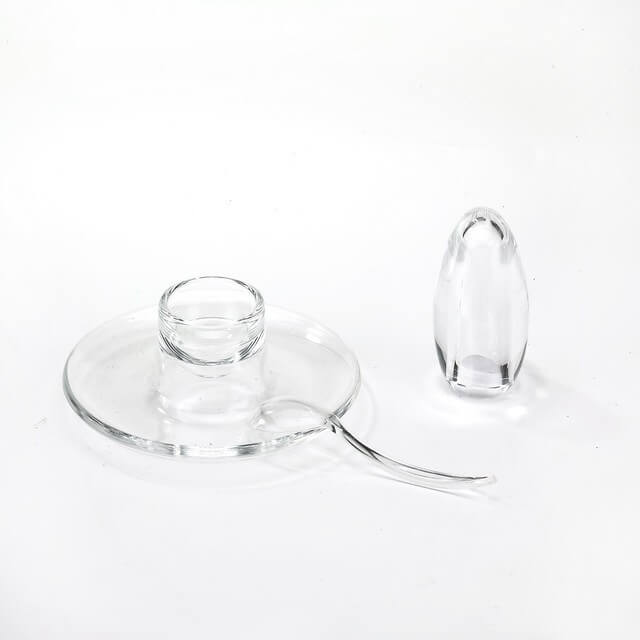 EG-08 Salt Shaker And Egg Plate With Spoon Set