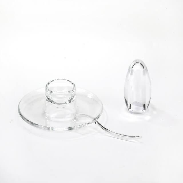 EG-08 Salt Shaker And Egg Plate With Spoon Set