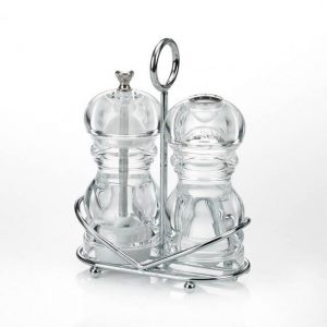 S8-AC Cruet Set With Stand
