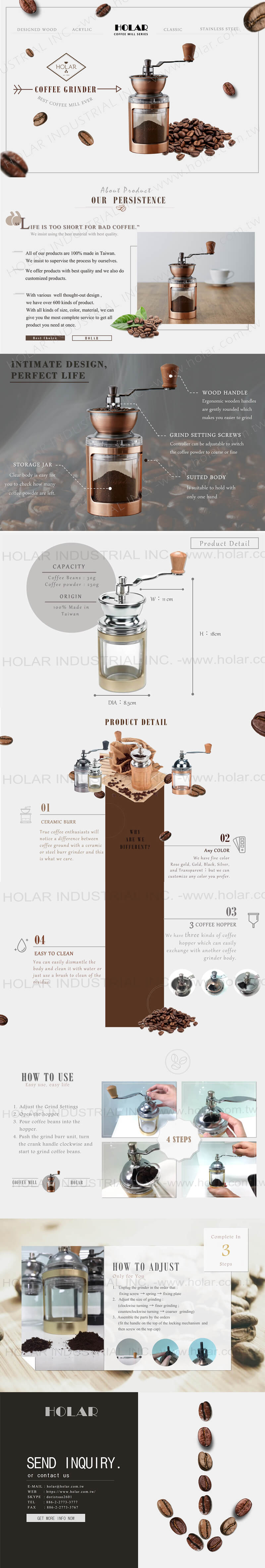 Holar - Coffee Mill Introduction