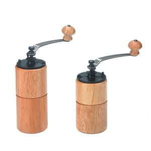Portable Manual Wood Coffee Grinder