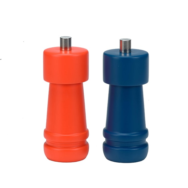 "Holar Salt And Pepper Mill Wood Mill Sleeker Series HL-86 Pepper Mill 4.5""H"