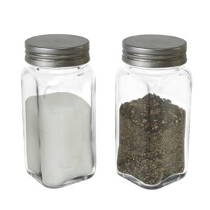SP-06SL-1 Glass Spice Bottle – Metal Cap