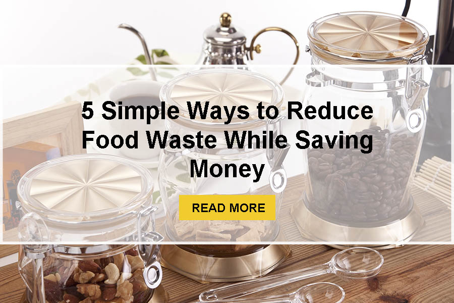 5 Simple Ways to Reduce Food Waste While Saving Money