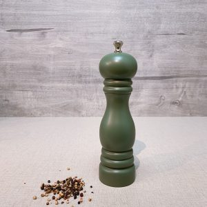 Blackish Green Pepper Mill for Easter Dinner