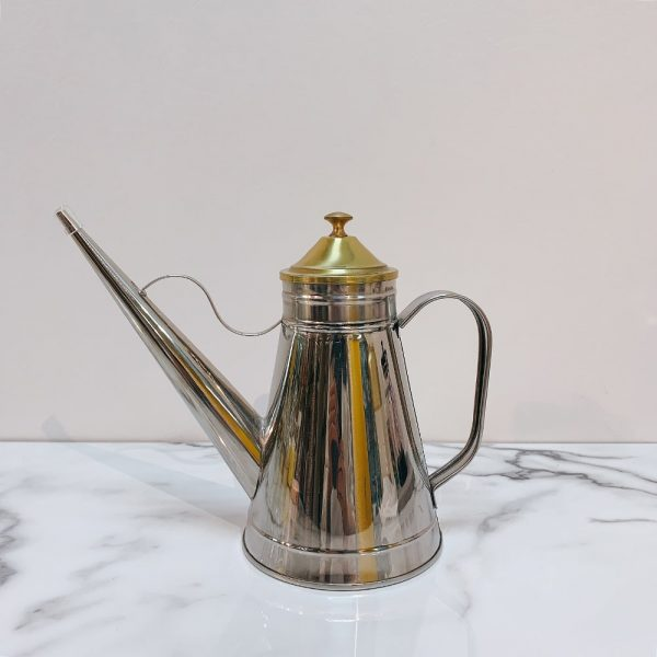 Arab Teapot-Shaped Oil Canister 01