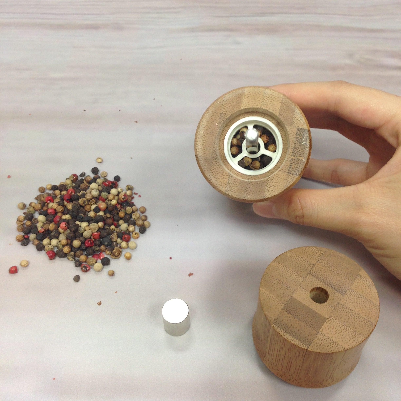 BB-45 Bamboo Pepper Mill-2