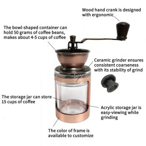 CM-DY03-D Coffee Mill