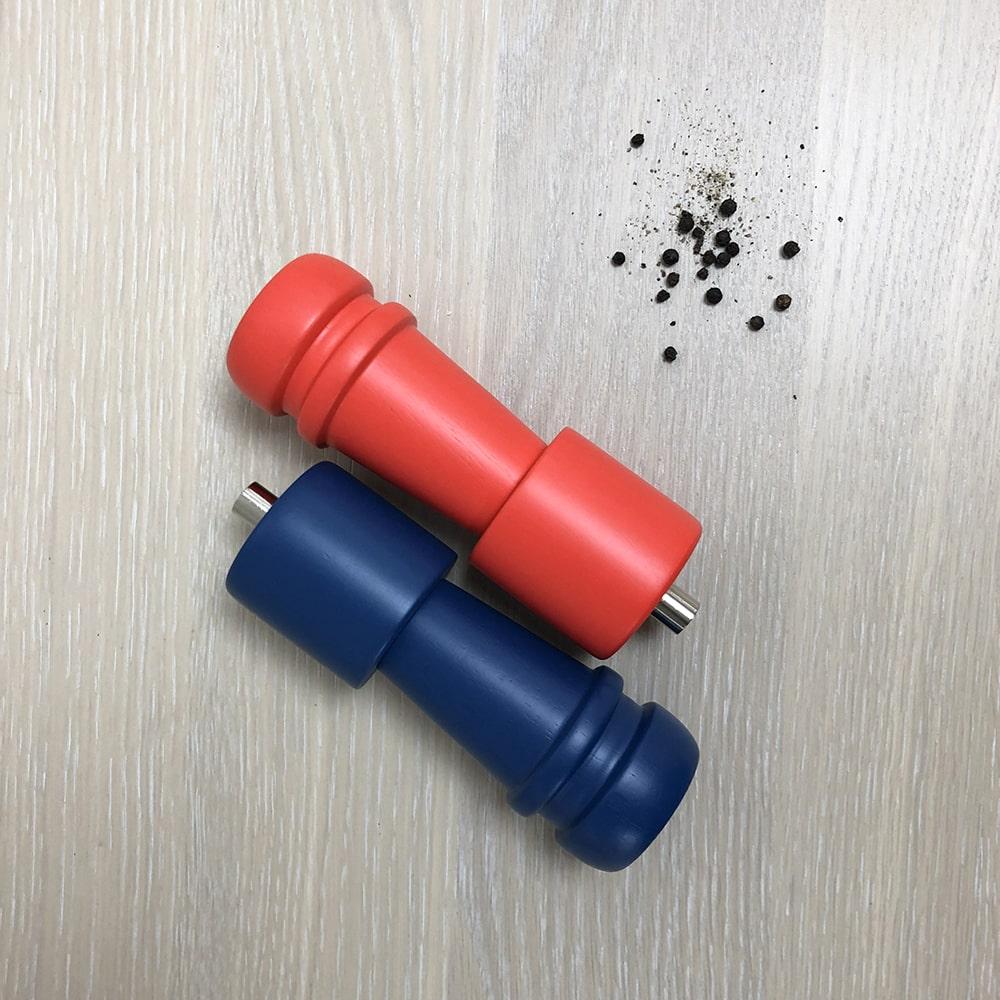HL-8606Wood Salt and Pepper mill-1
