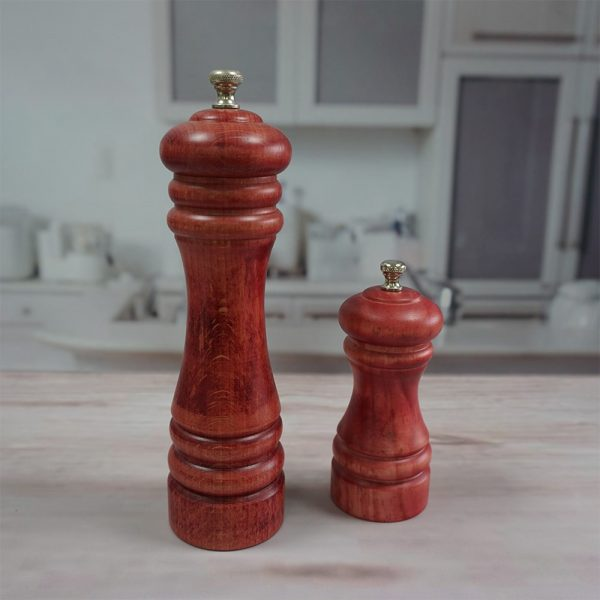 HOLAR AL3 Wooden Salt and Pepper Mill Grinder Wood - 2