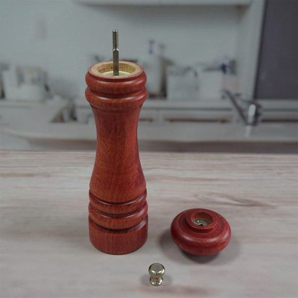 HOLAR AL3 Wooden Salt and Pepper Mill Grinder Wood - 4