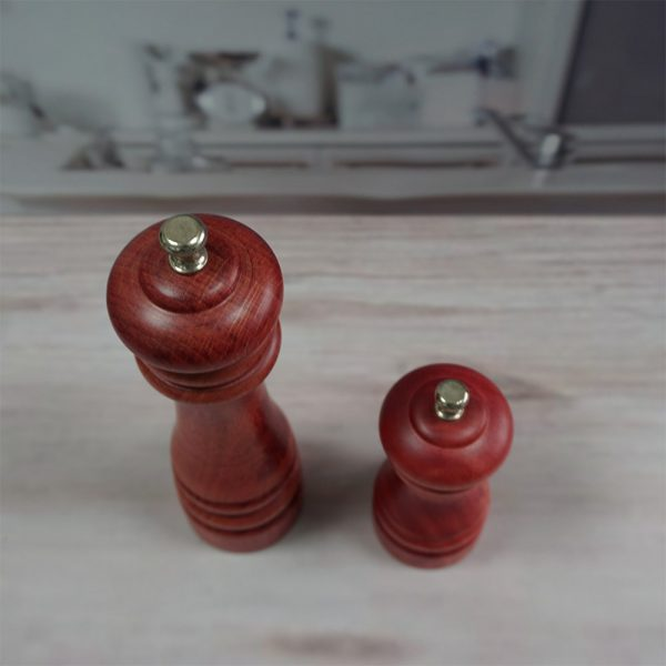 HOLAR AL3 Wooden Salt and Pepper Mill Grinder Wood - 5