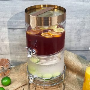 TA2-GD Stackable Beverage Drink Dispenser