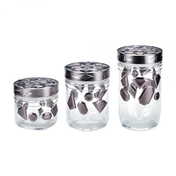 HOLAR CH-SL Canister Food Storage Container Plastic Acrylic - 1