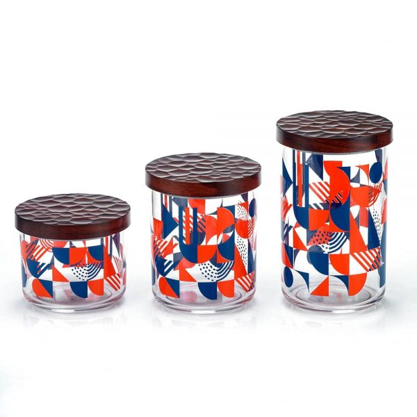 HOLAR DY-58 Canister with Printing Acrylic - 3