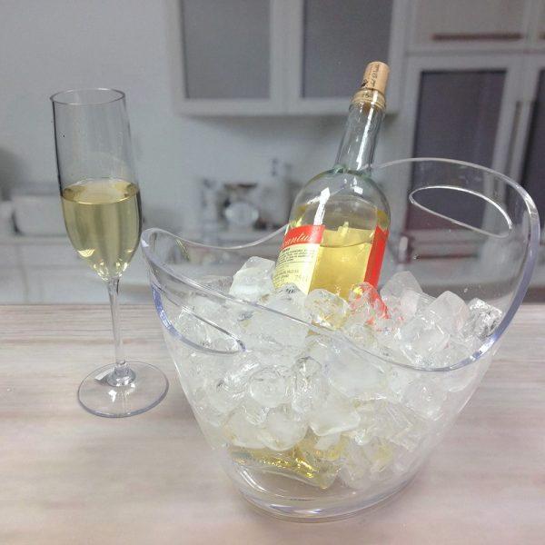 HOLAR HK 397 398 Ice Bucket Wine Cooler Acrylic - 3