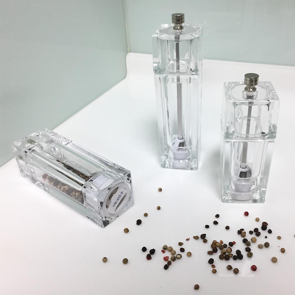 HOLAR HK HKB Acrylic Salt and Pepper Mill Grinder Plastic - 3