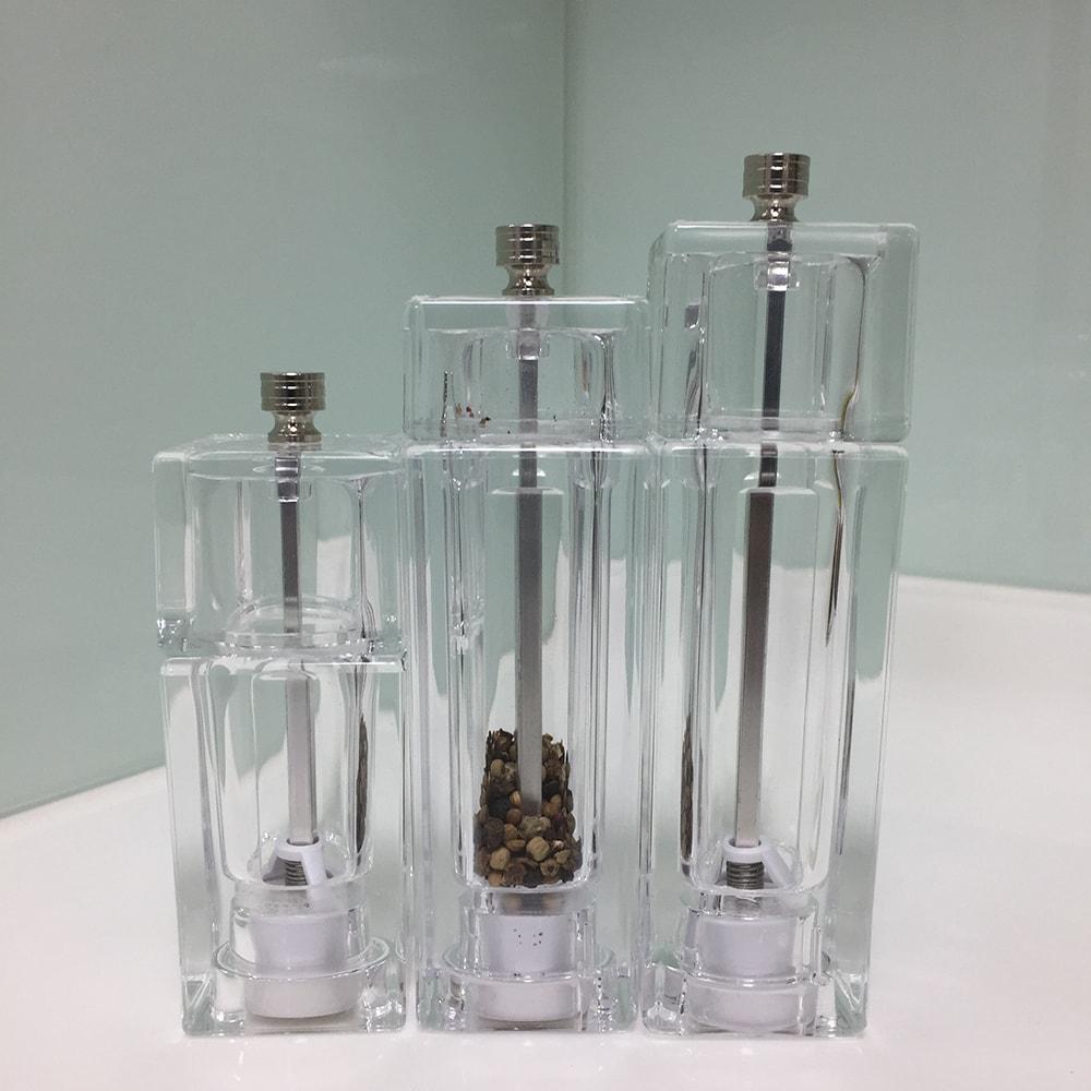 HOLAR HK HKB Acrylic Salt and Pepper Mill Grinder Plastic - 5
