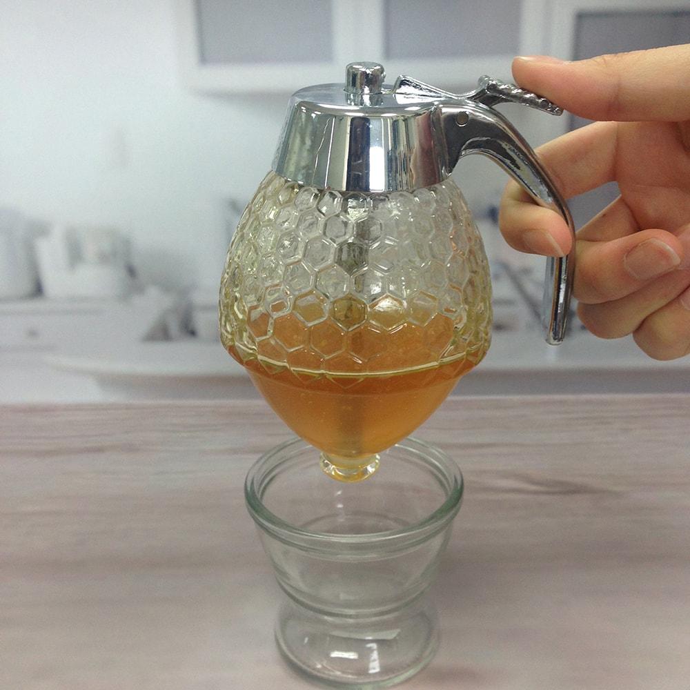HOLAR HL20001 Honey Dispenser Glass - 3