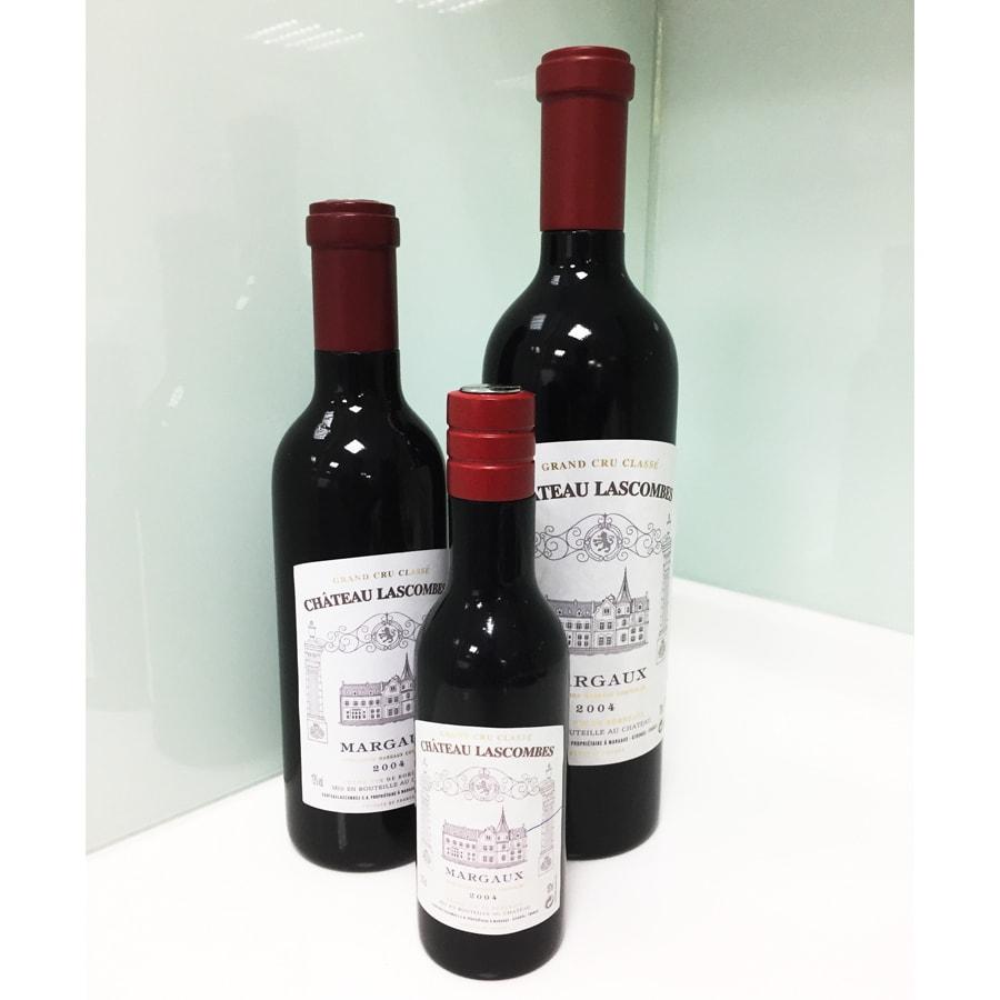 HOLAR RW Salt Pepper Mill Grinder Red Wine Bottle Wood - 2