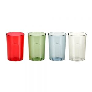 Kid-Friendly Multicolor Water Cups