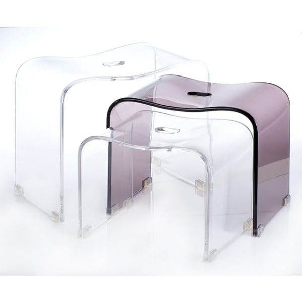 Holar - Bathroom - Acrylic Shower Bench Set