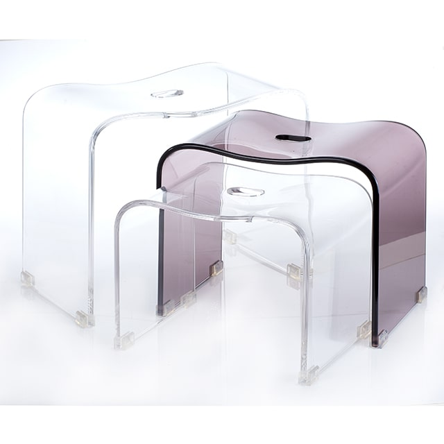 Acrylic Shower Bench Set