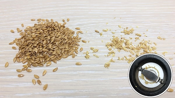 Holar - Blog - 13 Common Spices You Can (Cannot) Grind in Your Salt and Pepper Grinder - Flaxseed