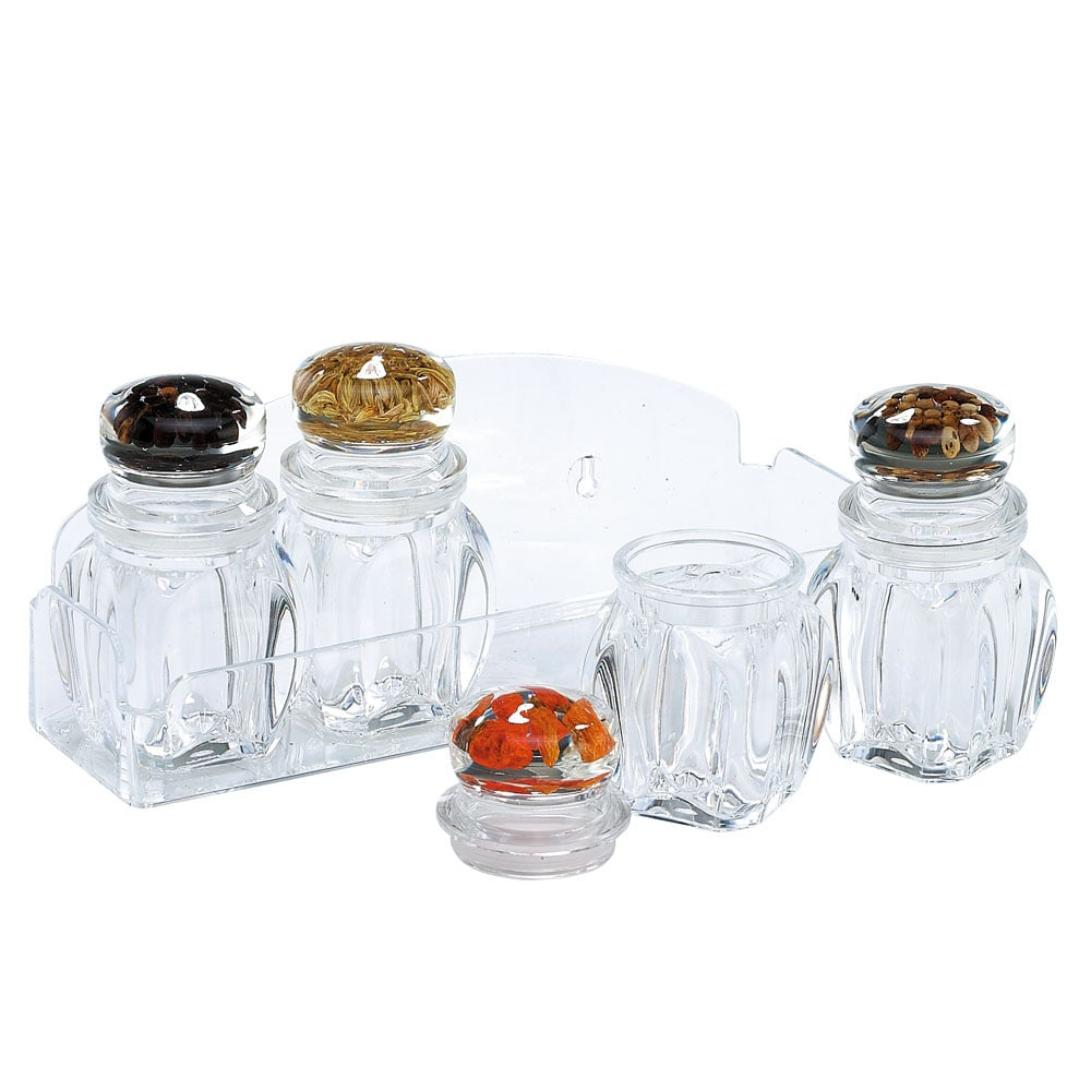Holar CASP-03SST Plastic Spice Containers