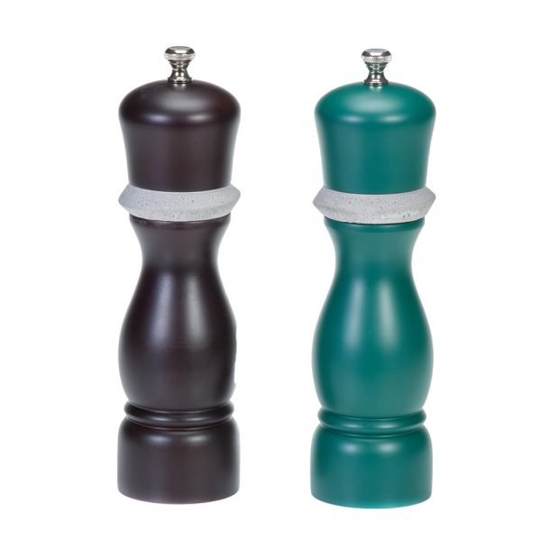 Holar-CE79 wood and concrete salt and pepper grinder