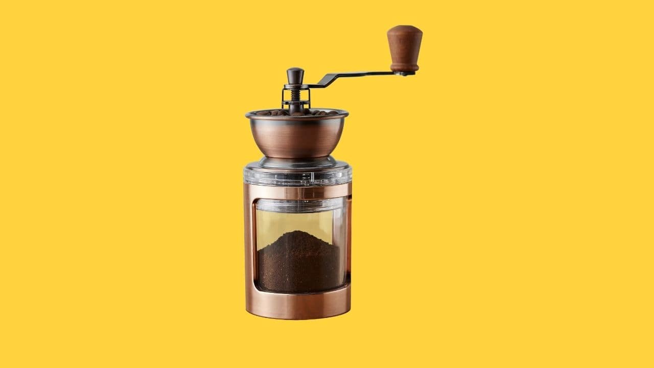 Holar CM-DY03 series coffee mill with handle-cover