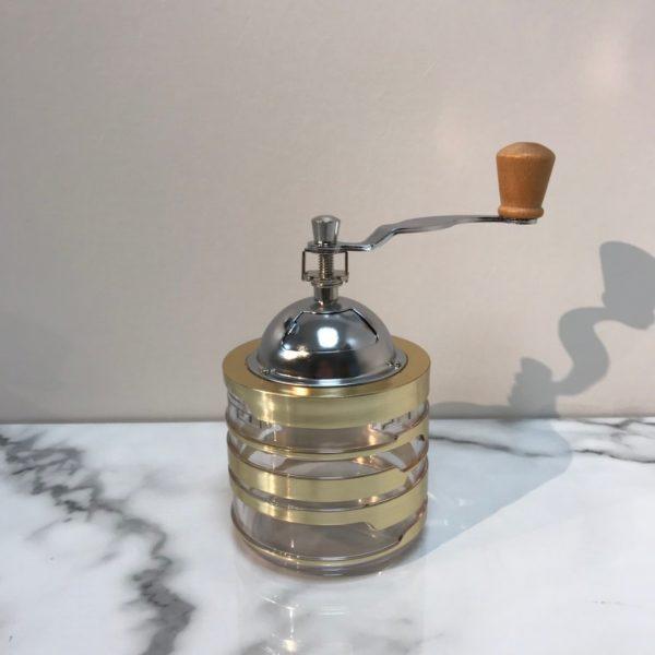 Holar CM-HK3GD-C Gold Canister Coffee Grinder-1