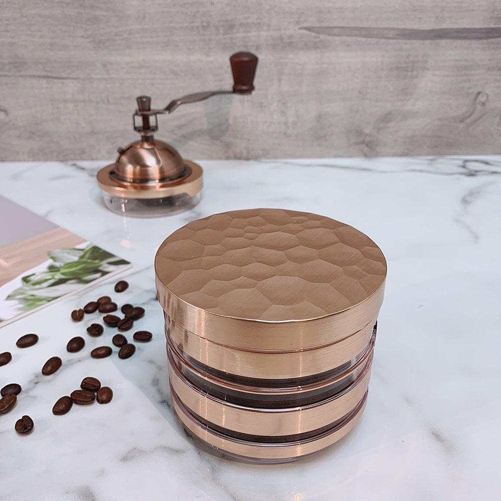 Holar CM-HK3RG-1 rose gold coffee grinder-2
