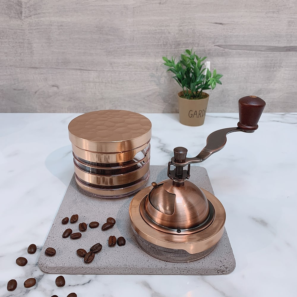 Holar CM-HK3RG-1 rose gold coffee grinder-3