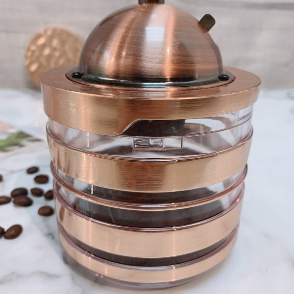 Holar CM-HK3RG-1 rose gold coffee grinder-4