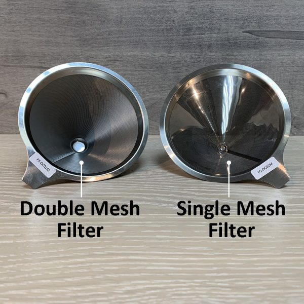 Holar - Coffee - Coffee Filter - PS-DC02 Reusable Stainless Steel Single Coffee Dripper - 3