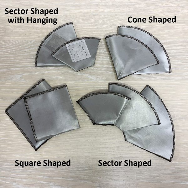 Holar - Coffee - Coffee Filter - PS-DC04 Reusable Foldable Stainless Steel Coffee Square Dripper - 5