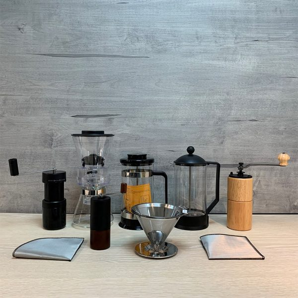 Holar - Coffee - Coffee Filter - PS-DC06 Reusable Foldable Stainless Steel Coffee Sector Dripper with Hanging Ear- 6