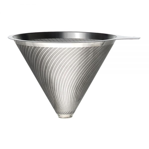 Holar - Coffee - Coffee Filter - Reusable Stainless Steel Double Coffee Dripper - 1