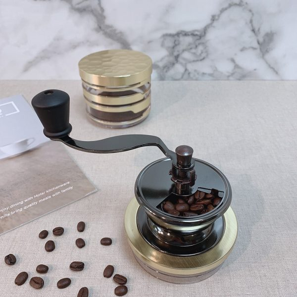 Holar Coffee Mill Acrylic Series CM-HK-Canister Coffee Grinder - 3