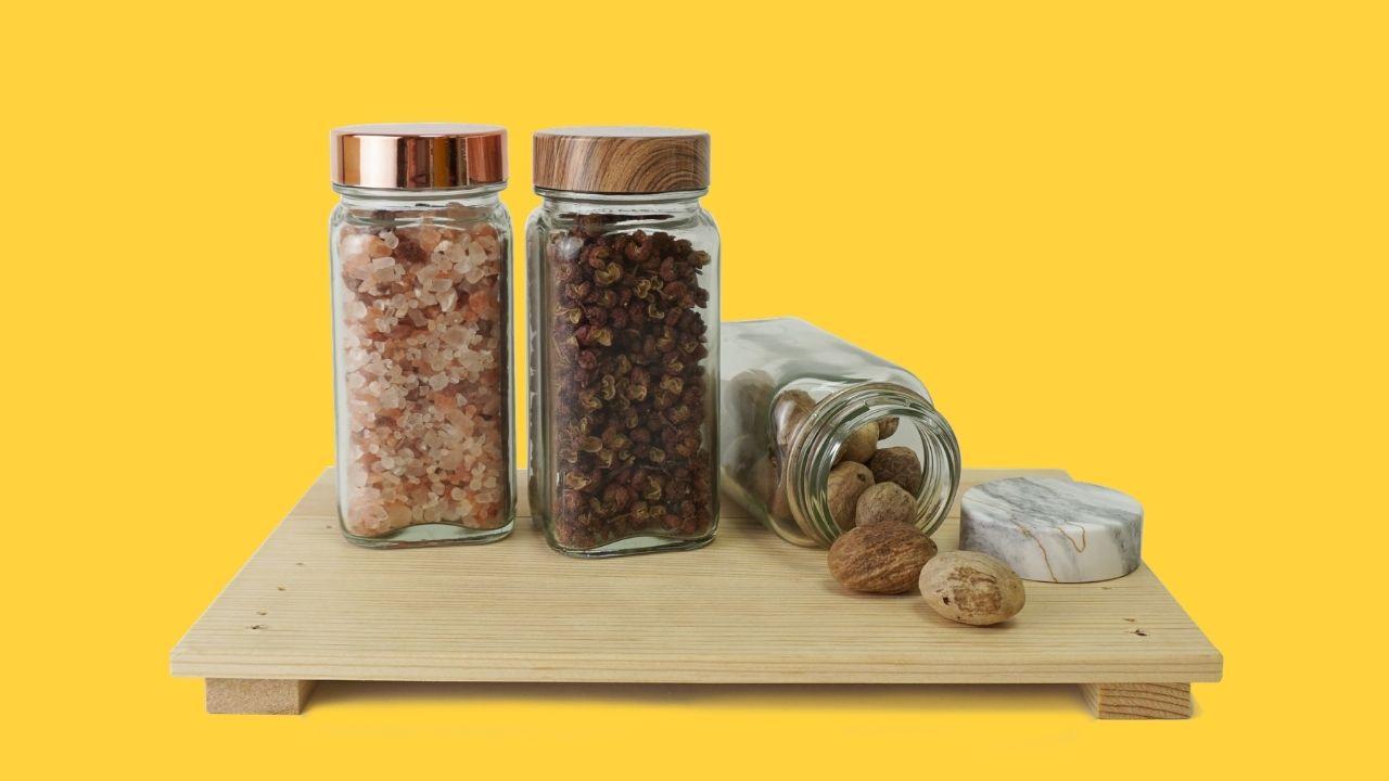 Holar Compelling Spice Jars