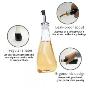 HK-562 Irregular Oil And Vinegar Bottle